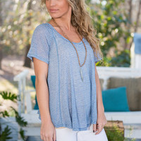 The Swinging Tee, Blue