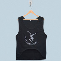 Women's Crop Tank - DMB Dave Matthews Band Fire Dancer Logo