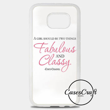 Quote Of Chanel Samsung Galaxy S8 Plus Case | casescraft