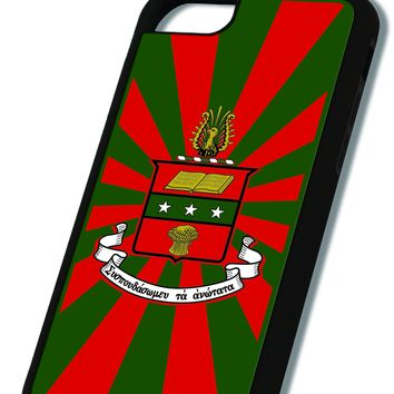 Alpha Chi Omega iPhone Case Black