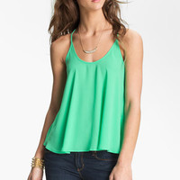 Lush Flowy Racerback Camisole (Juniors) | Nordstrom