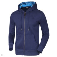 Burberry 2018 autumn and winter new men's sports jacket hooded autumn and winter sweater blue
