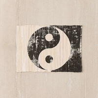 Yin-Yang Printed Rug | Urban Outfitters
