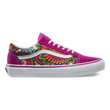 Geo Floral Old Skool | Shop Classic Shoes at Vans