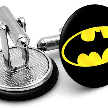 Batman Simple Logo Cufflinks