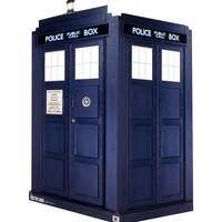 Doctor Who 3D Life-Size Tardis 2 Cardboard Standup