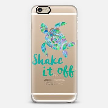 Shake it off turtle iPhone 6 case by Caroline Verellen | Casetify