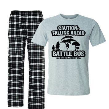 Battle Bus Fortnight Pajamas for kids boys youth
