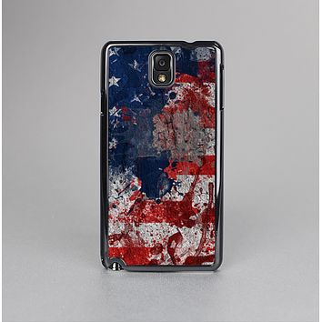 The Grungy American Flag Skin-Sert Case for the Samsung Galaxy Note 3