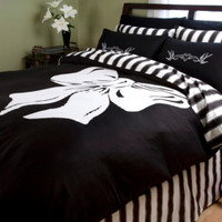 Bow Queen Duvet Cover