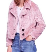 Free People Free People Mena Faux Fur Jacket from Nordstrom   ShapeShop