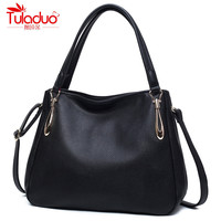 2017 Large Capacity Hobos Bags Women Handbags High Quality PU Leather Women Shoulder Bags Famous Brand Ladies Tote Bag Designer