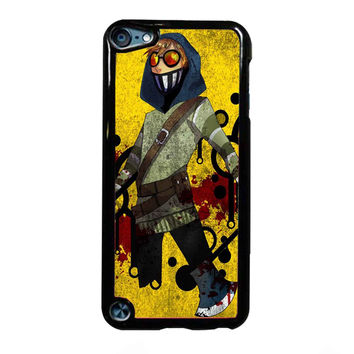 Creepypasta Ticci Toby crown FOR IPOD TOUCH 5 CASE *01*