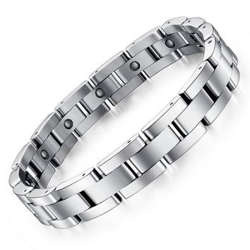 Great Deal Gift Shiny Stylish New Arrival Hot Sale Awesome Men Titanium Jewelry Classics Bracelet [10783261123]