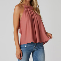 Do The Ruffle Sleeveless Top