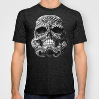 Ornate Skulltrooper T-shirt by BioWorkZ