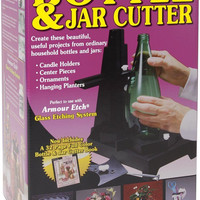 Armour Products Bottle and or Jar Cutter, Hand Glass Craft Studio Tool, New