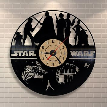 Laser Cut Star Wars Clock