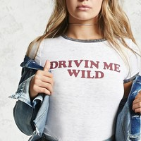 Drivin Me Wild Graphic Tee