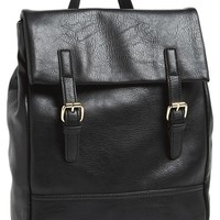 Emperia 'Blake' Faux Leather Backpack (Juniors)