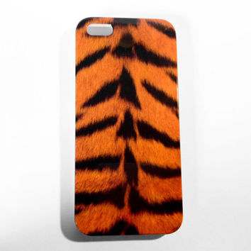 iPhone Case 5 - Tiger Print iPhone 5 Case