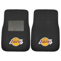 Los Angeles Lakers NBA 2-pc Embroidered Car Mat Set