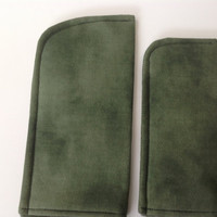 Gentlemen's Selection of Eyeglass or Sunglass Case Protective Padded Pouch Choose your Size and Color