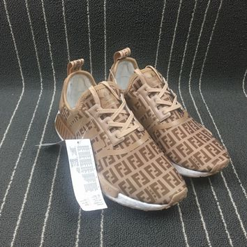 PEAPON Adidas Boost Fendi x Nmd R1 Women Men Shoes Sneakers