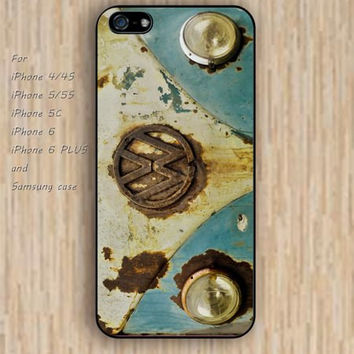 iPhone 5s 6 case Rust vm buss colorful phone case iphone case,ipod case,samsung galaxy case available plastic rubber case waterproof B372