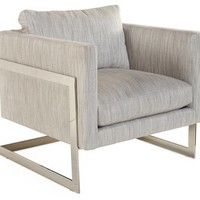 Geneva Accent Chair, Smoke