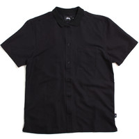 Vacation Button-Up Shirt Black