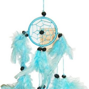 Sea Blue Mini Dream Catcher