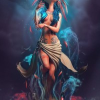 """The Weeping Woman"" - Art Print by Carlos A. Ortega Elizalde"