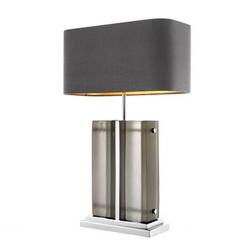 Frosted Glass Table Lamp | Eichholtz Solana