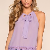 Sweet Company Top - Lavender