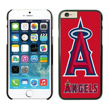 Los Angeles Angels of Anaheim Designed Snap on iPhone 6 plus Hard Back Cover, Baseball Cool PC Case for iPhone 6 plus (5.5 inches), Gifts for Men