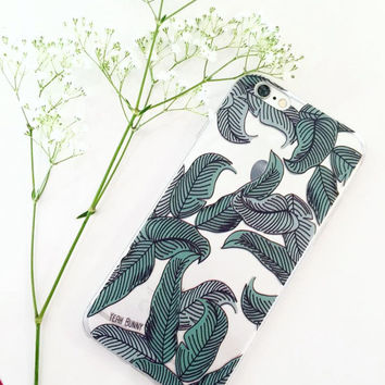 iPhone Case - Palm Leaves