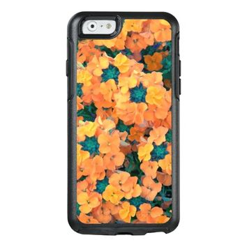 Orange Siberian Wallflowers Floral Photo OtterBox iPhone 6/6s Case