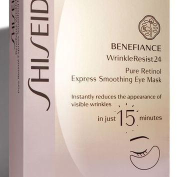 Shiseido Benefiance WrinkleResist24 Pure Retinol Express Smoothing Eye Mask | Nordstrom