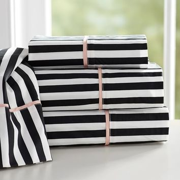 THE EMILY + MERITT PIRATE STRIPE SHEET SET