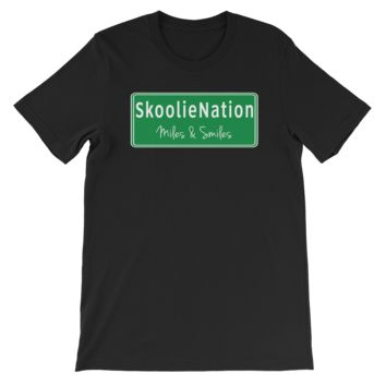 Skoolie Nation Road Sign Tee