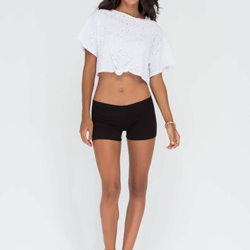 Start From The Bottom Fitted Shorts GoJane.com