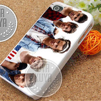 One Direction Vintage Style - iPhone 4/4s/5/5S/5C Case - Samsung Galaxy S2/S3/S4 Case - Black or White