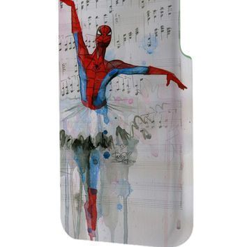 Best 3D Full Wrap Phone Case - Hard (PC) Cover with Spiderman Ballet Design