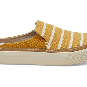 SUNFLOWER RIVIERA STRIPE WOMEN'S SUNRISE MULE SLIP-ONS