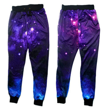 Emoji Joggers Pants 3D Graphic Galaxy  Space Sport  Sweatpants