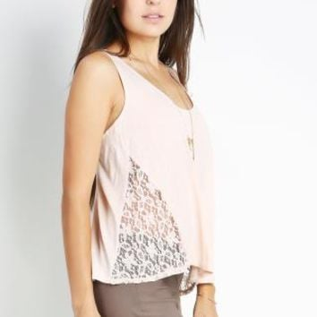 Side Crochet Solid Top