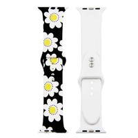 Daisy Flowers Silicone Replacement Apple Watch Band