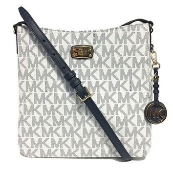 DCCKUG3 Michael Kors Jet Set Travel Large Messenger Shoulder Bag