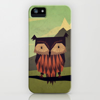Owl iPhone & iPod Case by Yetiland